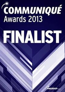 Communiqué Awards 2013 Finalist