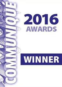 Communiqué 2016 awards - Winner