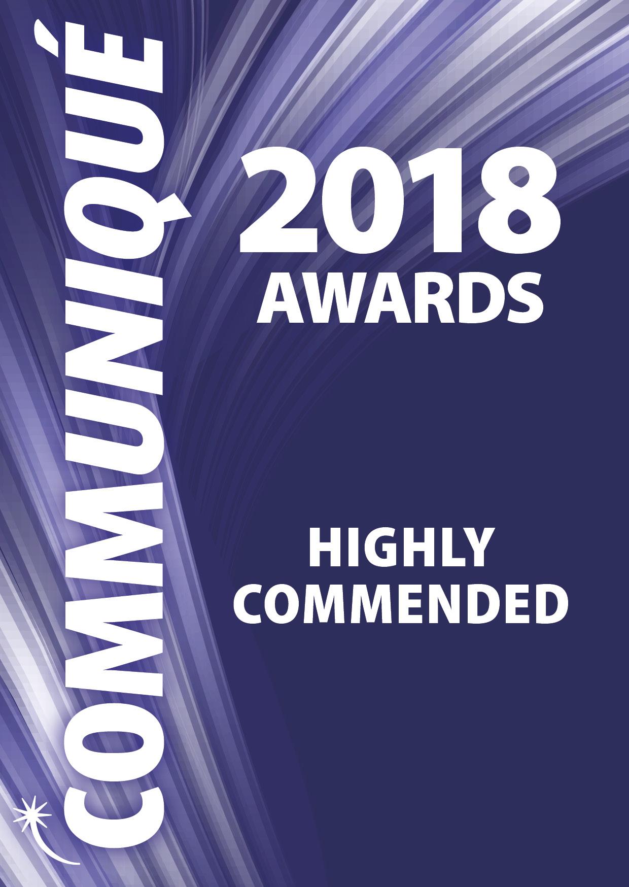 Communiqué 2018 awards