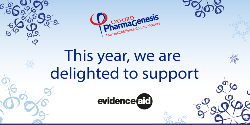 Evidence Aid is our charity of the year!